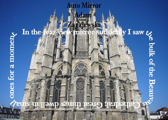 Auto Mirror Postcard